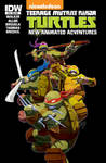 IDW's TMNT Animated 18 Subscription Cover