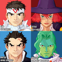 continuing the CAPCOM heads by theCHAMBA