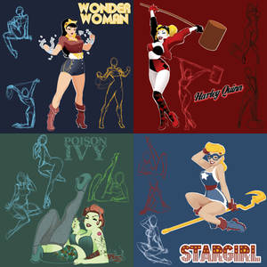 DC's Bombshell Concepts