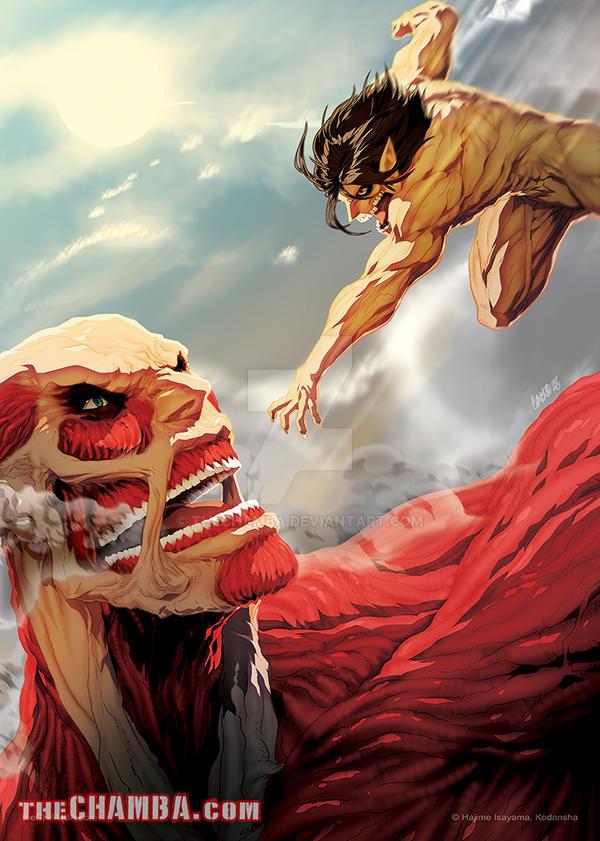 Attack the Titan by theCHAMBA on DeviantArt
