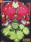 SupanovaMelb2015 - Hulk VS Hulkbuster