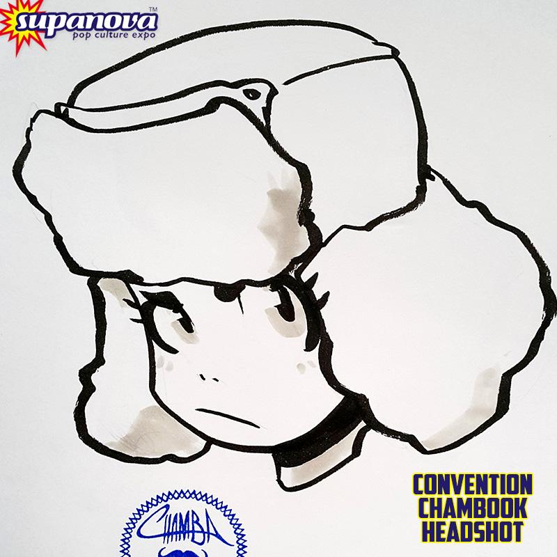SupanovaMelb2015 ChamBOOK - Ody by theCHAMBA