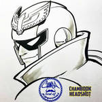 ChamBOOK Headshot - Captain Falcon