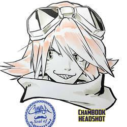 ChamBOOK Headshot - Haruko Haruhara