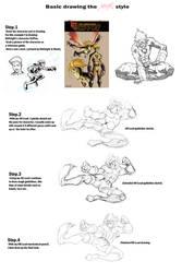 Drawing the Chamba Style by theCHAMBA