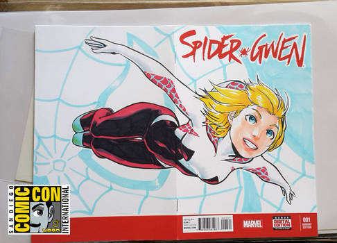 SDCC2015 - SpiderGwen by theCHAMBA