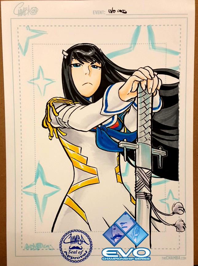 EVO2015 - Satsuki Kiryuin by theCHAMBA