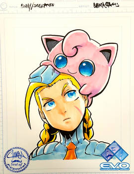 EVO2015 - Cammy and Jigglypuff