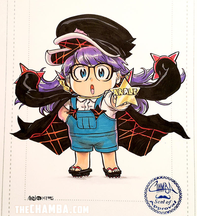 2 Star Goku Uniform Arale-chan By TheCHAMBA On DeviantArt