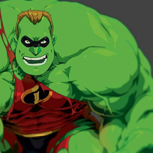 Mr.Incredible HULK Pixar: 11 Redesigns Fans Made That Are Actually Better Than The Movies