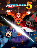 Legacy Collection - Mega Man 5 by theCHAMBA