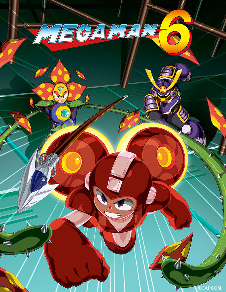 Legacy collection mega man 6 by thechamba on deviantart for Megaman 9 portada