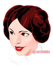 Leia Organa by theCHAMBA