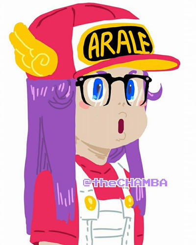Arale Norimaki By TheCHAMBA On DeviantArt