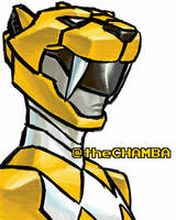 015 - YellowRanger by theCHAMBA
