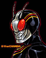 041 - Kamen Rider Black by theCHAMBA