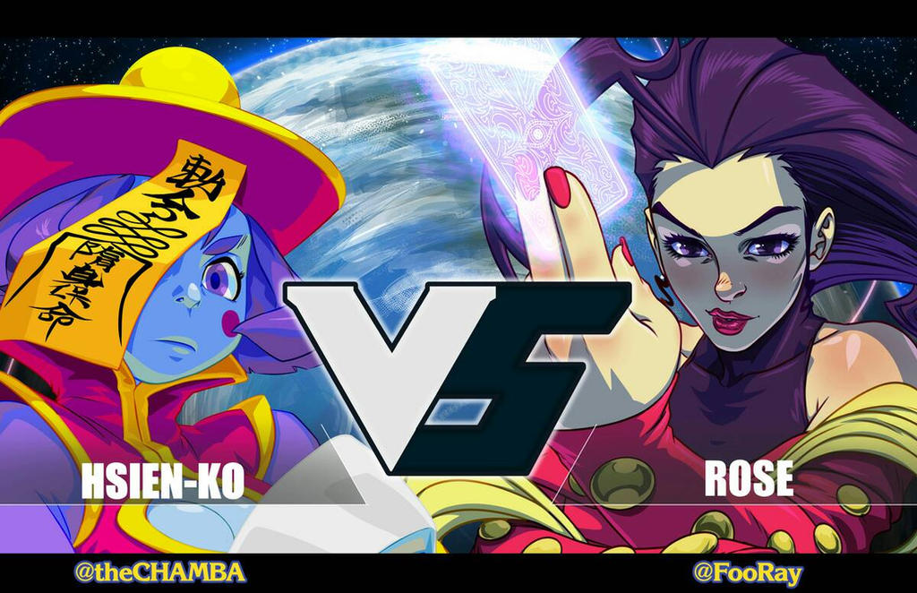 Hsien-Ko VS Rose by theCHAMBA