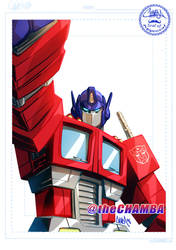 Optimus PRIME by theCHAMBA