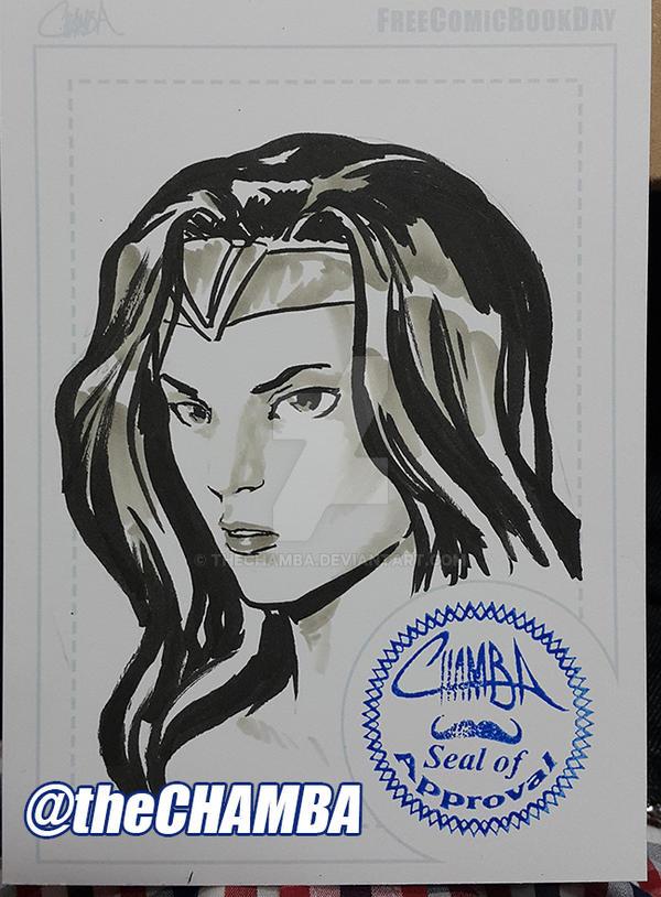 FCBD2016 - Wonder Woman by theCHAMBA