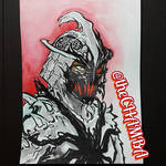 Inktober 2016 - 07 - Shredder