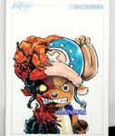 Inktober 2016 - 30 - Tony Tony Chopper