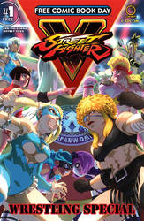FCBD : StreetFighter V : Wrestling Special by theCHAMBA