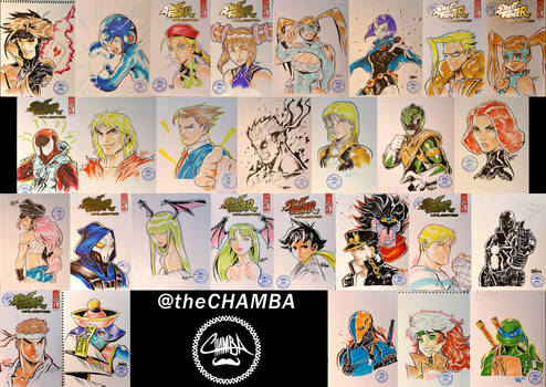 Tokyo Comic Con 2016 - Artwork Compilation
