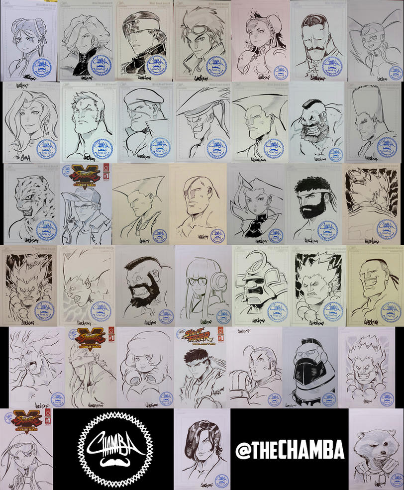 Battle Arena Melbourne 2017 - Artwork Compilation by theCHAMBA