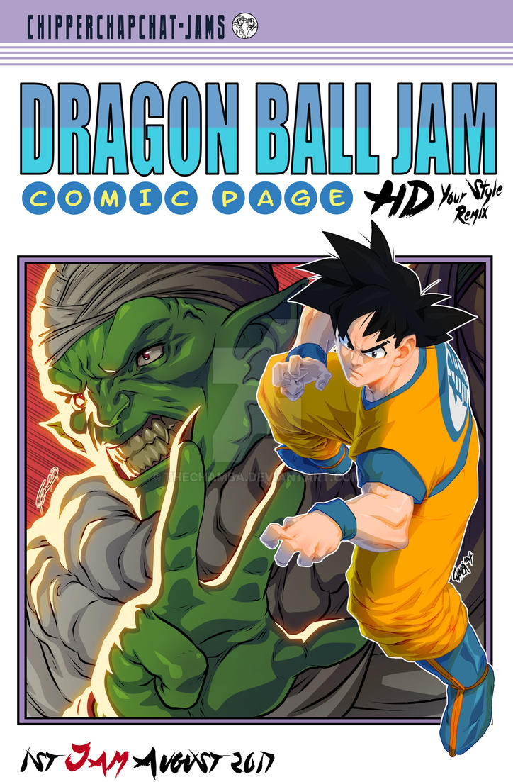 Dragon Ball 16 Homage - Chipper Chap Collab by theCHAMBA