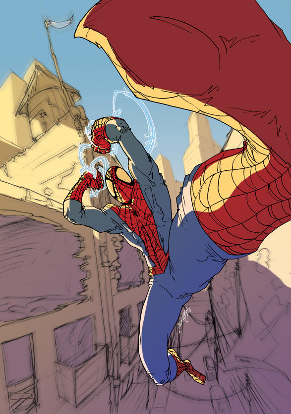 Digital Spider by theCHAMBA