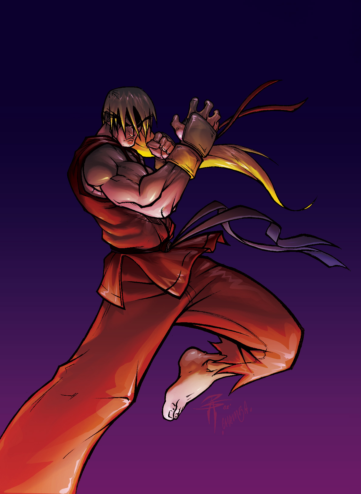 VIOLENT Ken Masters