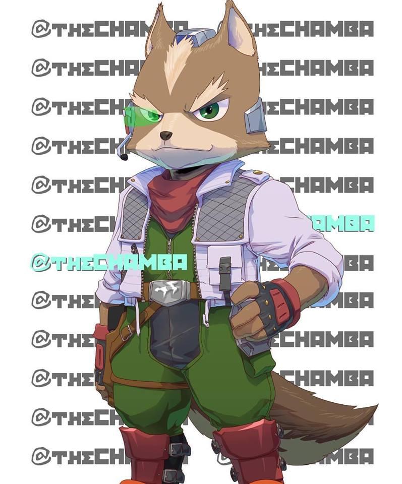 BAM10 - Fox McCloud by theCHAMBA
