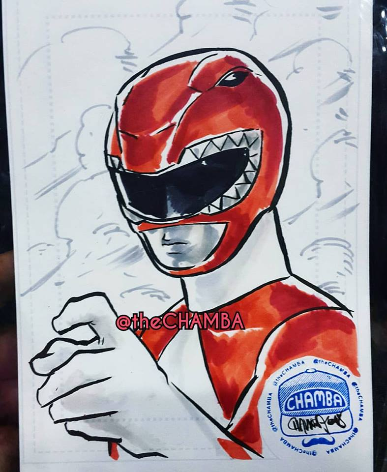 OzCC2018 - Red Ranger by theCHAMBA
