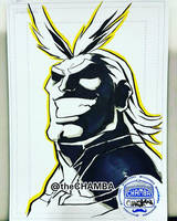 OzCC2018 - All Might by theCHAMBA