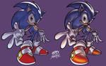 Sonic - 2 colour styles
