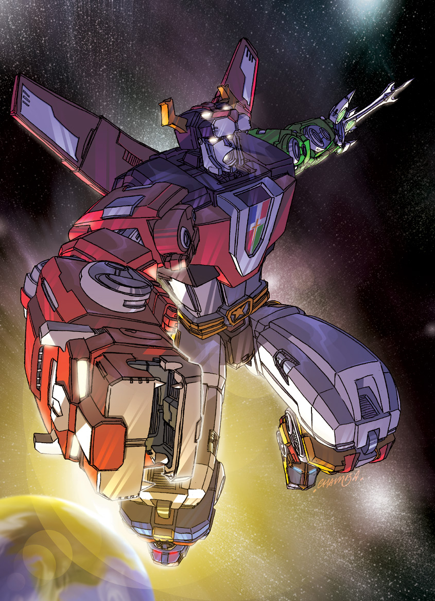 VOLTRON by theCHAMBA