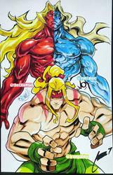 SFIII VS by theCHAMBA