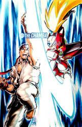 Ryu VS Zero by theCHAMBA