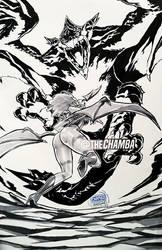 Succubus VS Dragon by theCHAMBA