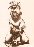 Sketch Madness Sam by theCHAMBA