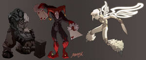 CharacterConcepts3:Commission by theCHAMBA