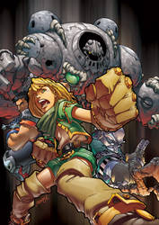 homage: Battle Chasers by theCHAMBA