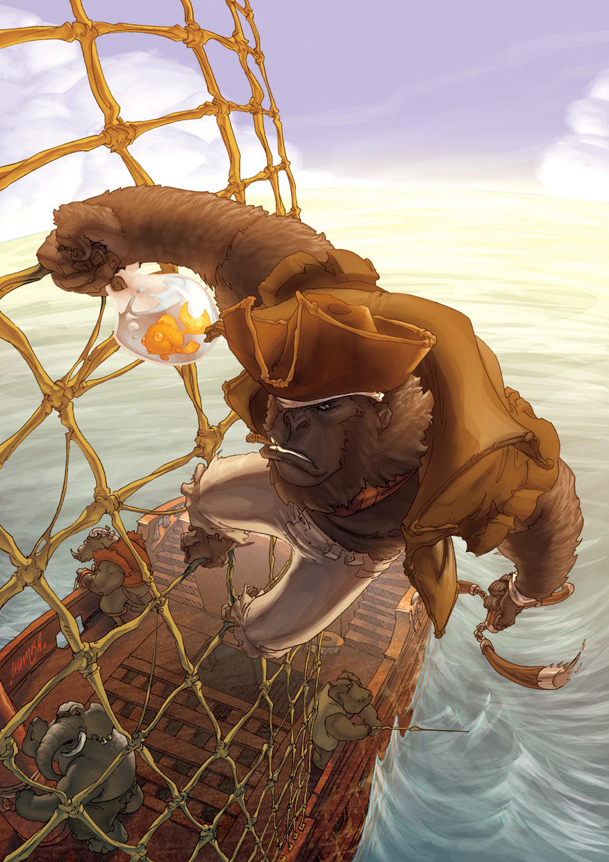 GoRilla Pirate Madness by theCHAMBA