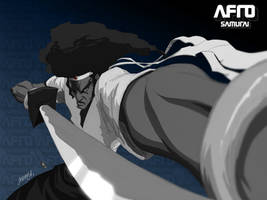 AFRO-SAMURAI by theCHAMBA