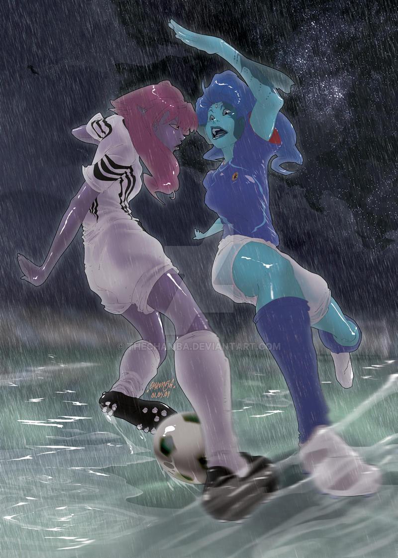 kick it when slippery by theCHAMBA