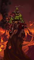 an Orc's Roar