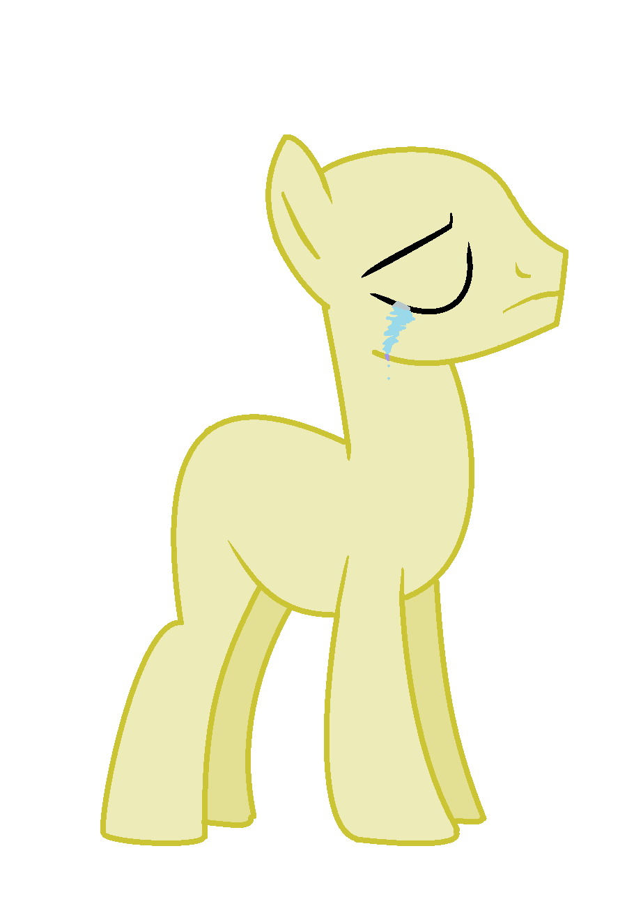 mlp base male sad without a chocolate by rainbowshinemlp