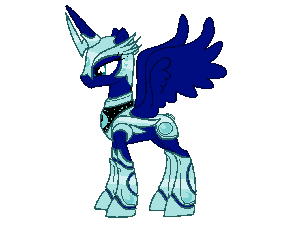 mlp armor base luna s size 3 by rainbowshine mlp on deviantart