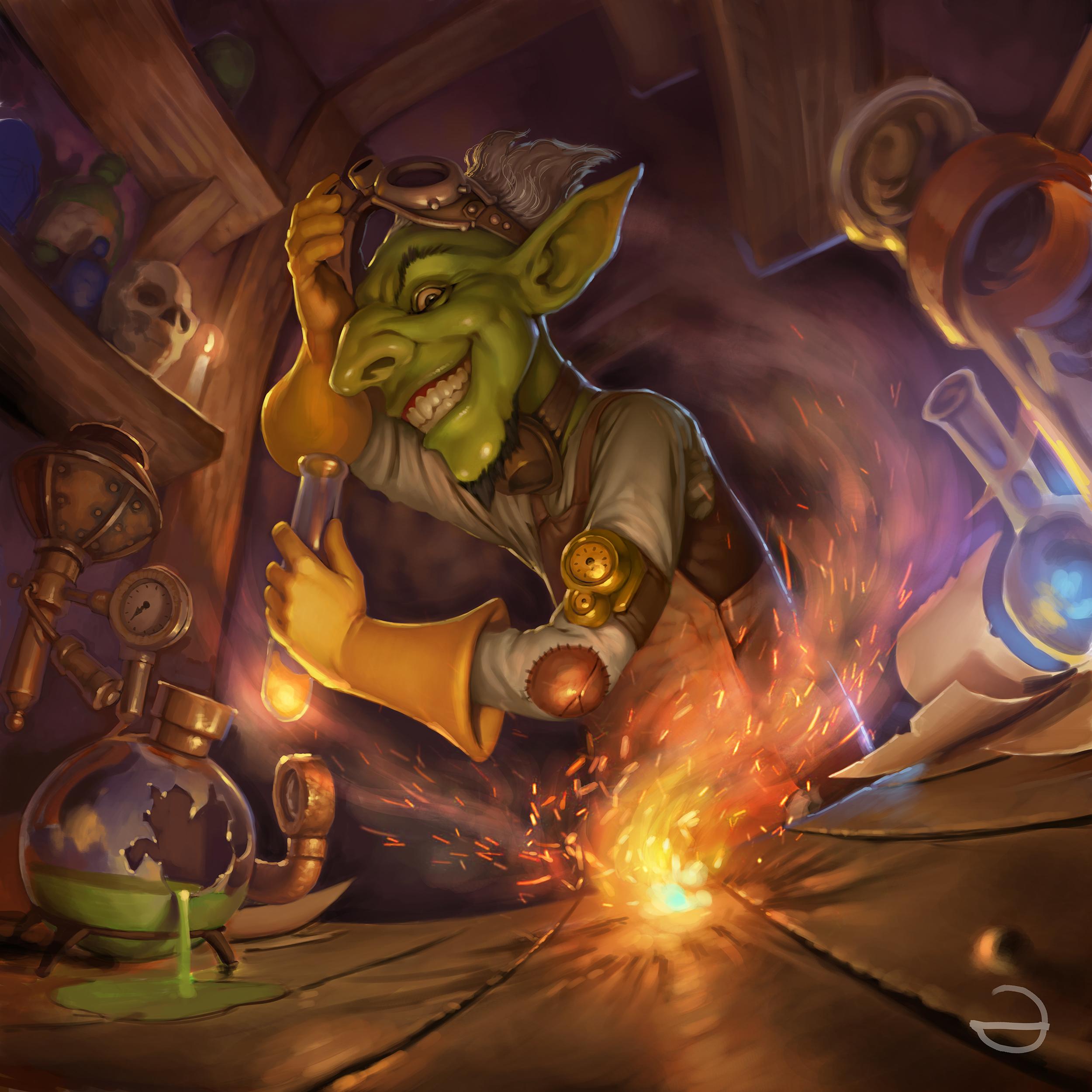 Goblins vs gnomes alchemist by yerbol bulentayev - Hobgoblin wallpaper ...