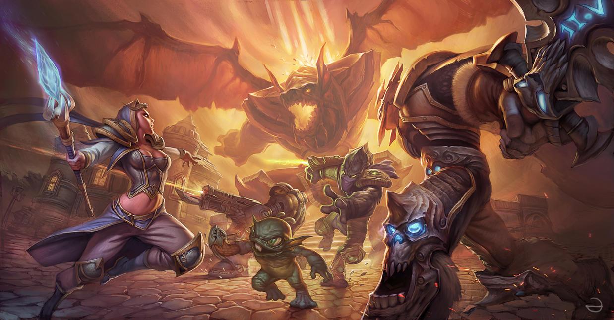 Heroes of the storm by eksrey